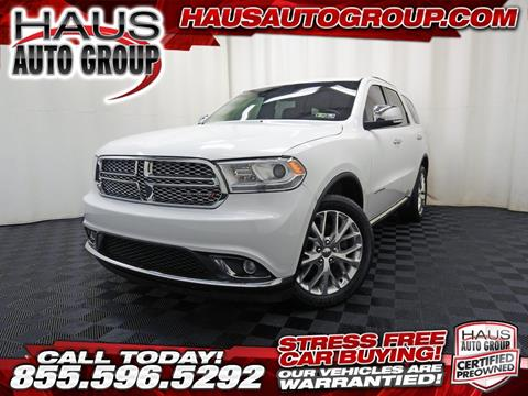 2014 Dodge Durango for sale in Canfield, OH