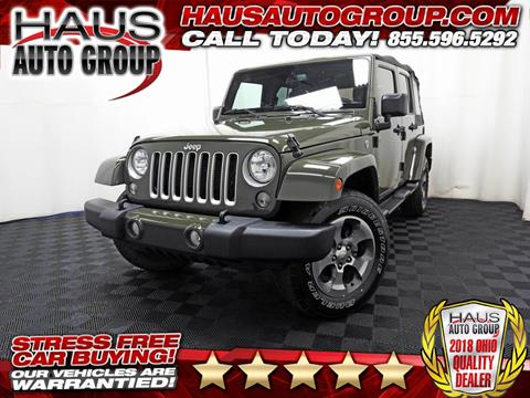 2016 Jeep Wrangler Unlimited for sale in Canfield, OH