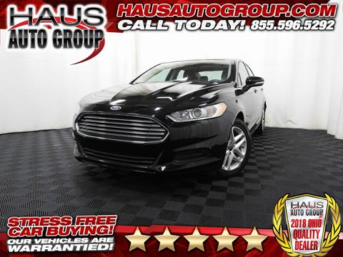 2016 Ford Fusion for sale in Canfield, OH