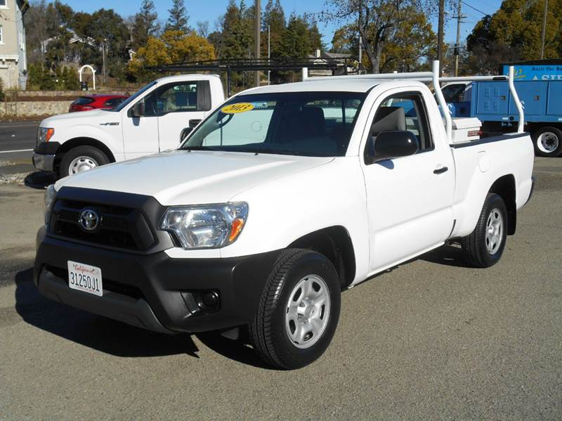 2013 toyota tacoma 4x2 2dr regular cab 6 1 ft sb 4a in livermore ca performance motors. Black Bedroom Furniture Sets. Home Design Ideas