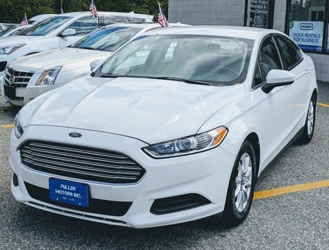 2015 Ford Fusion for sale in Waltham, MA