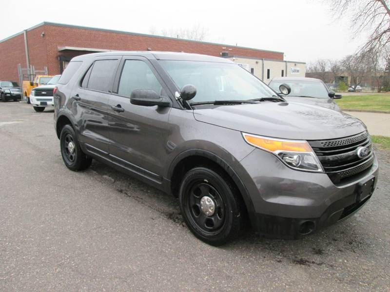2013 Ford Explorer Awd Police Interceptor 4dr Suv In Golden Valley Mn Xgovernmentcars