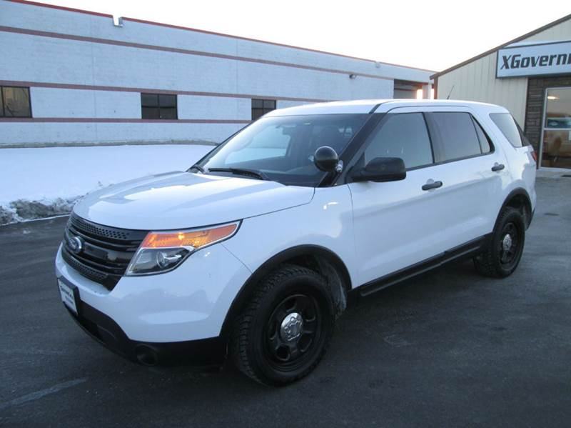 New 2017 Ford Police Interceptor Utility Awd 4dr 2017