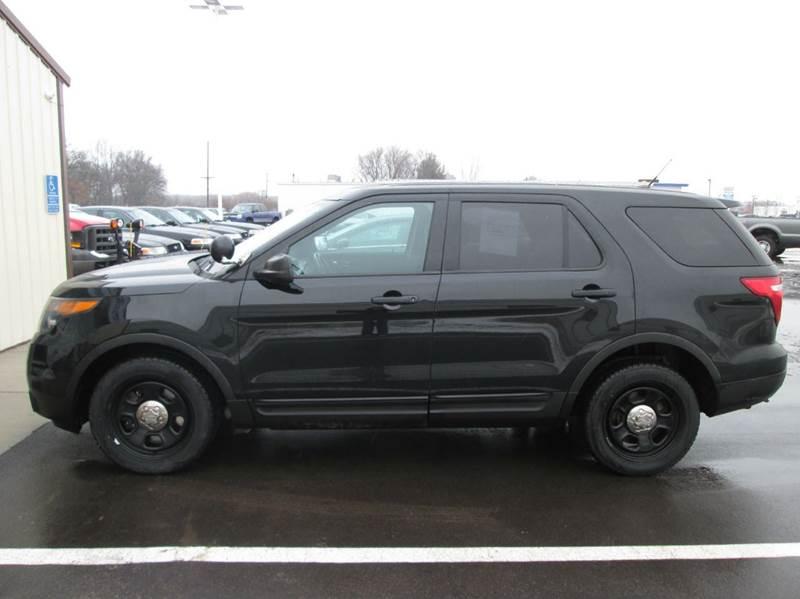 2013 ford explorer awd police interceptor 4dr suv in Ford explorer police interceptor interior