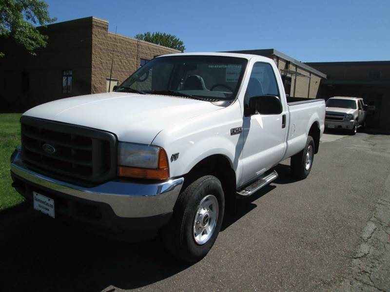 2001 ford f 250 super duty xl 2dr standard cab 4wd lb in forest lake mn xgovernmentcars. Black Bedroom Furniture Sets. Home Design Ideas