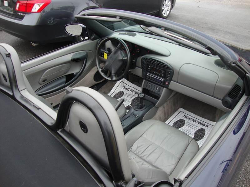 1999 Porsche Boxster 2dr Convertible - Chester VA