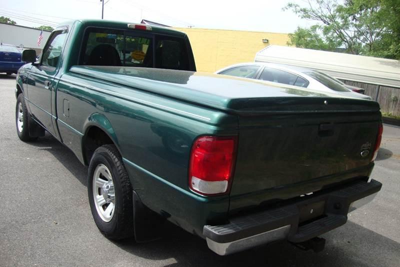 2000 Ford Ranger 2dr XLT Standard Cab LB - Chester VA