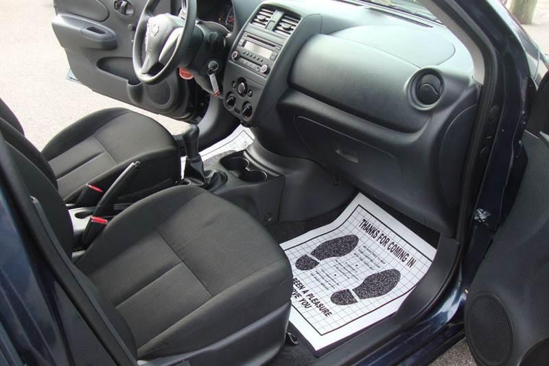 2016 Nissan Versa 1.6 S 4dr Sedan 5M - Chester VA