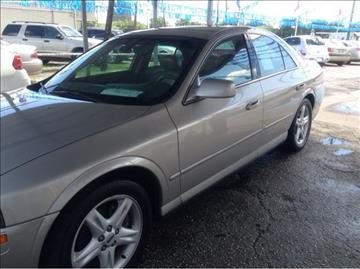 2002 lincoln ls for sale texas for Jerry allen motors beaumont tx