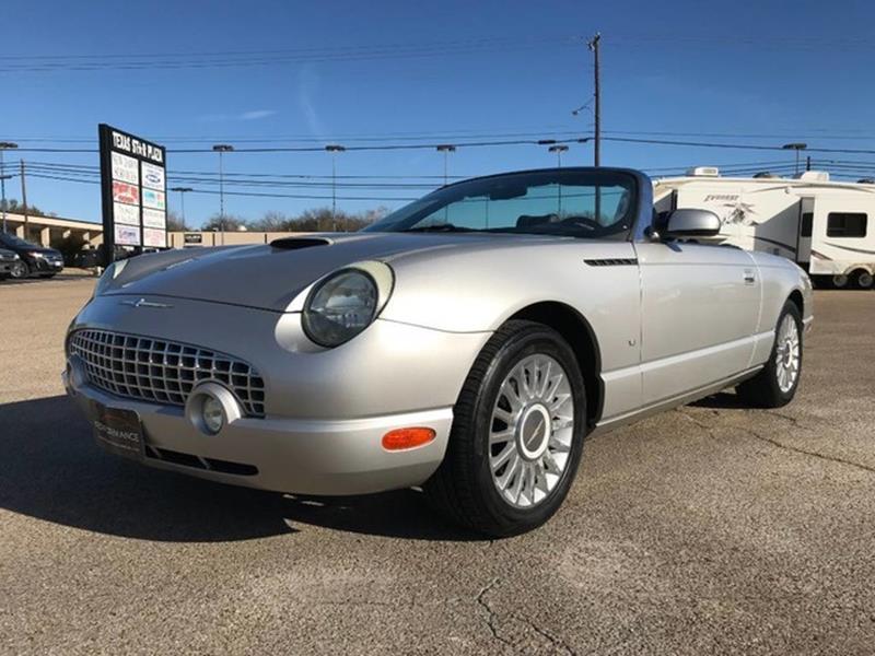 Used 2004 ford thunderbird for sale in texas for Thunderbird motors san antonio tx