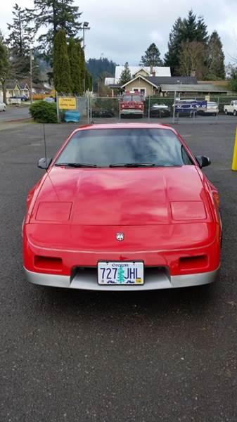 1986 Pontiac Fiero GT 2dr Coupe - Portland OR