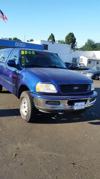 1998 Ford F-150 2dr 4WD Standard Cab SB - Portland OR