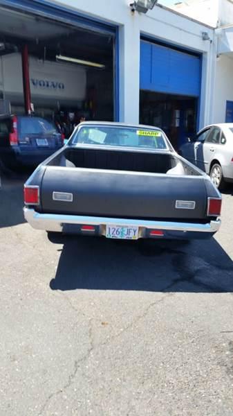 1972 Chevrolet El Camino  - Portland OR