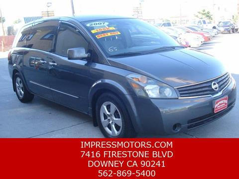 2007 Nissan Quest for sale in Downey, CA