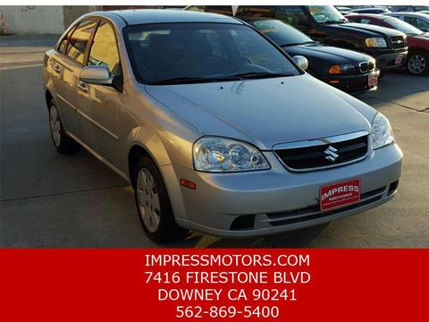 2008 Suzuki Forenza for sale in Downey, CA