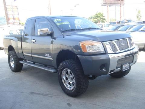 2008 Nissan Titan for sale in Downey, CA