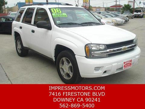 2006 Chevrolet TrailBlazer for sale in Downey, CA