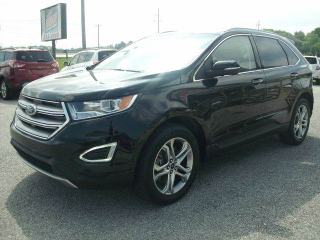2016 Ford Edge AWD Titanium 4dr SUV - Greenwood IN