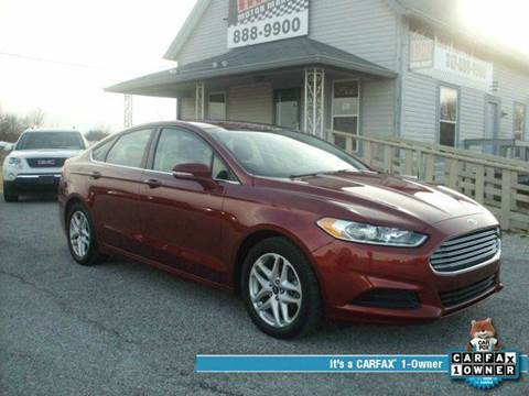 2014 Ford Fusion for sale in Greenwood, IN