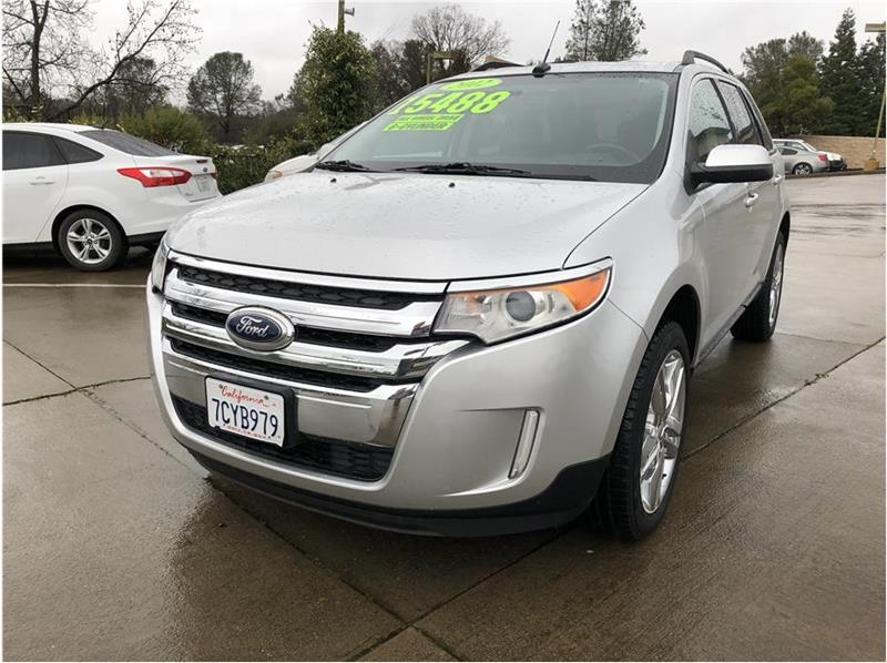 Ford Edge Awd Sel Dr Crossover Shingle Springs Ca