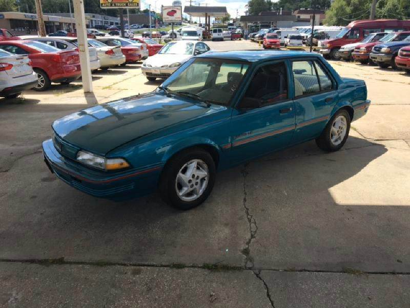 1994 pontiac sunbird le 4dr sedan buy here pay here down in kansas city mo government. Black Bedroom Furniture Sets. Home Design Ideas