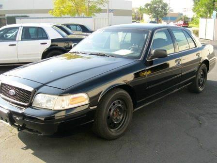 2002 Ford Crown Victoria Police Interceptor Axle