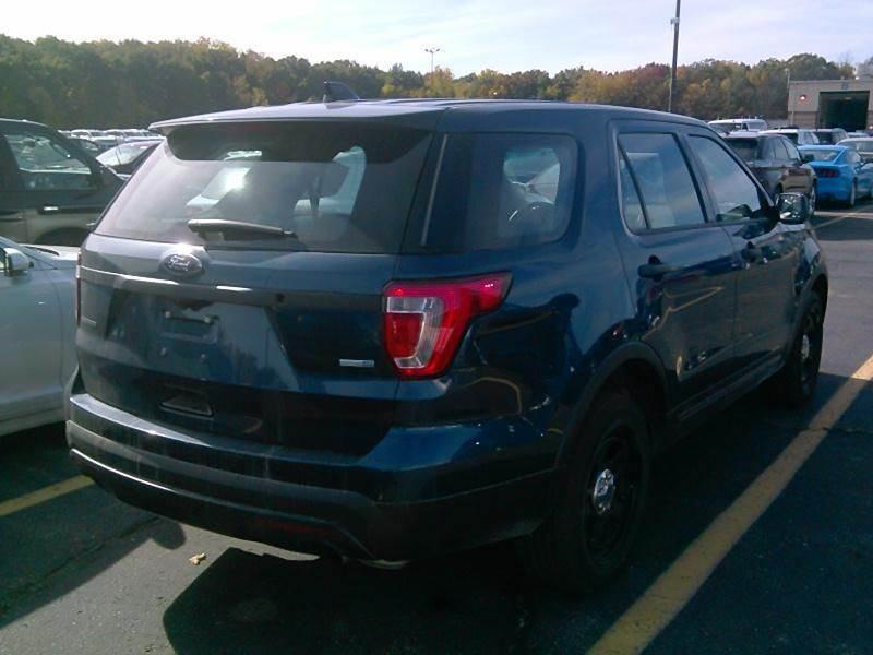 2017 Ford Explorer Awd Police Interceptor 4dr Suv In