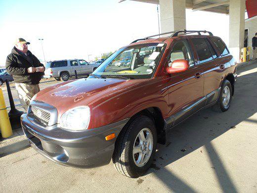 2002 Hyundai Santa Fe near Kansas City MO 64120 for $1,695.00