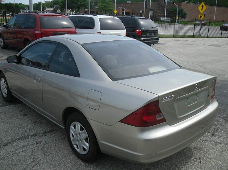 2003 honda civic lx 2dr coupe in kansas city mo. Black Bedroom Furniture Sets. Home Design Ideas