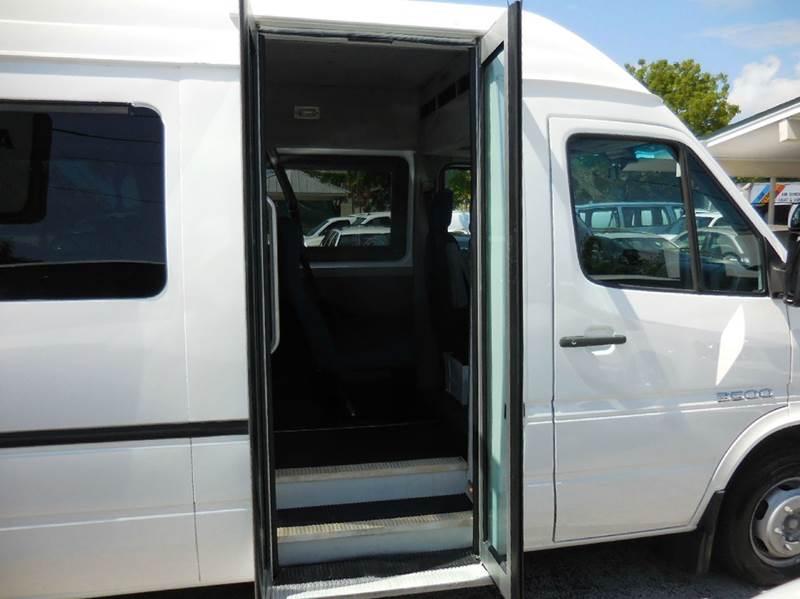 2005 Dodge Sprinter Cargo 3500 High Roof 158 WB 3dr Extended Cargo Van DRW - Delray Beach FL