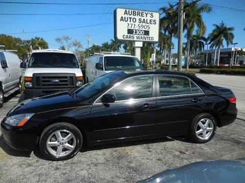 2003 Honda Accord for sale in Delray Beach, FL