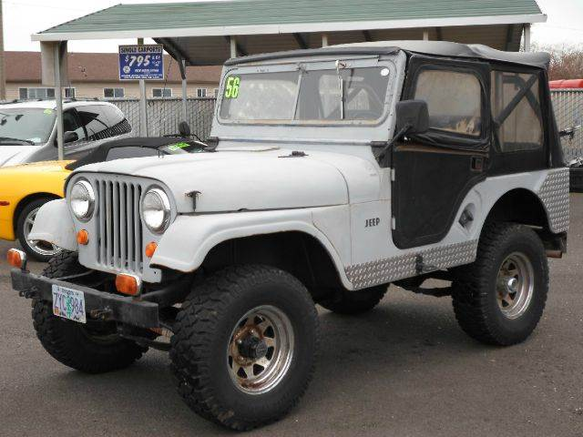 1956 Willys CJ-5 for sale in Salem OR