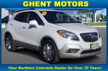 2013 buick encore for sale colorado for Ghent motors in greeley co