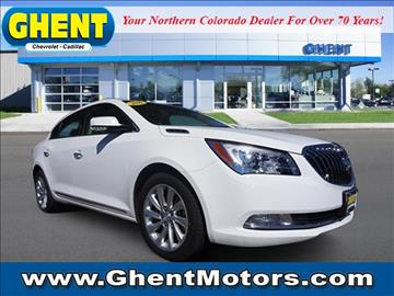 2016 buick lacrosse for sale colorado for Ghent motors in greeley co
