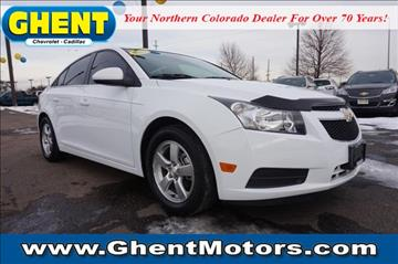 Used chevrolet cruze for sale greeley co for Ghent motors in greeley co