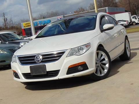 2010 Volkswagen CC for sale in Houston, TX