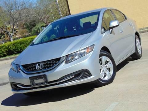 2013 Honda Civic for sale in Houston, TX