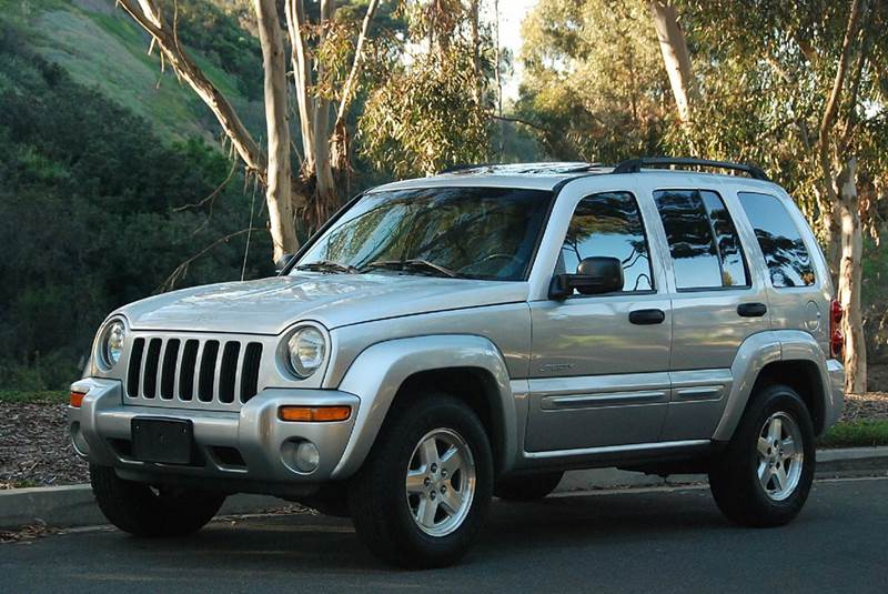 2004 Jeep Liberty Limited 4wd 4dr Suv In San Diego Ca New