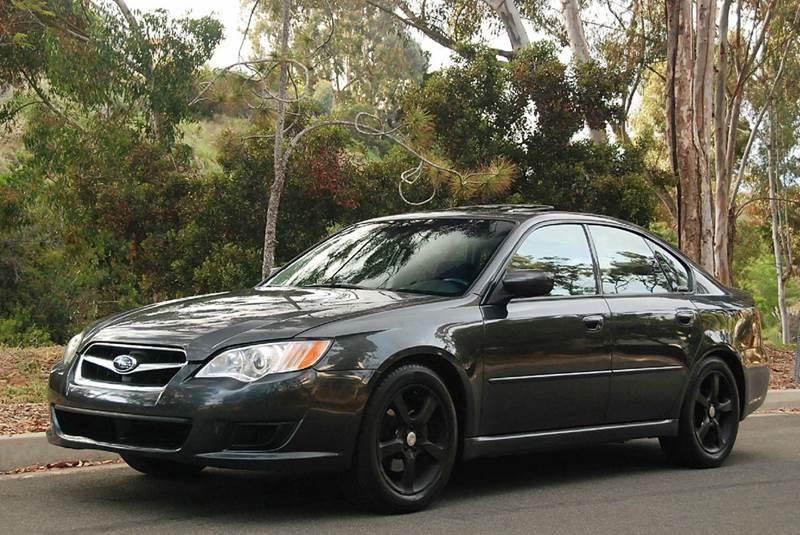 2009 Subaru Legacy 2 5i Special Edition AWD 4dr Sedan 4A
