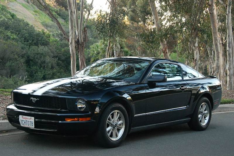 2008 ford mustang v6 premium 2dr coupe in san diego ca. Black Bedroom Furniture Sets. Home Design Ideas