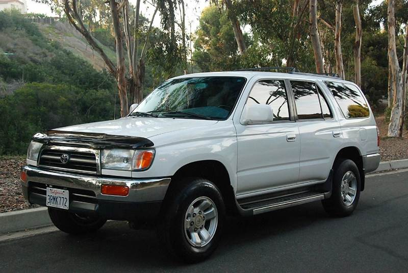 1996 toyota 4runner sr5 4dr suv in san diego ca new generation autos. Black Bedroom Furniture Sets. Home Design Ideas