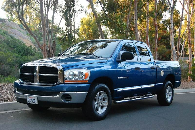2006 dodge ram pickup 1500 slt 4dr quad cab sb in san diego ca new generation autos. Black Bedroom Furniture Sets. Home Design Ideas