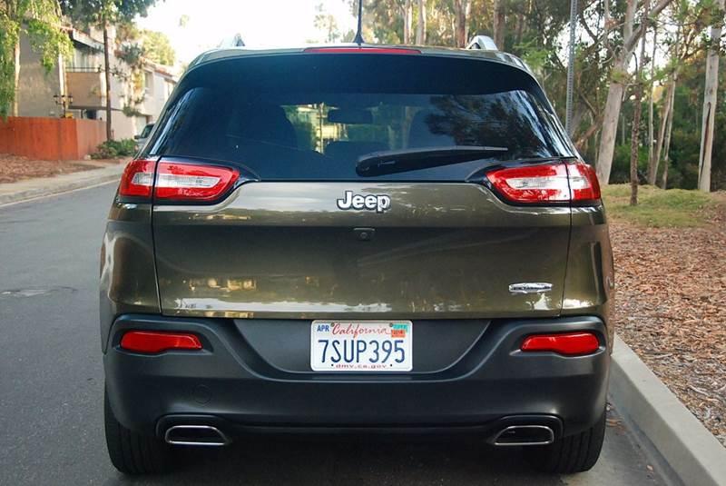2016 Jeep Cherokee Latitude 4dr SUV - San Diego CA
