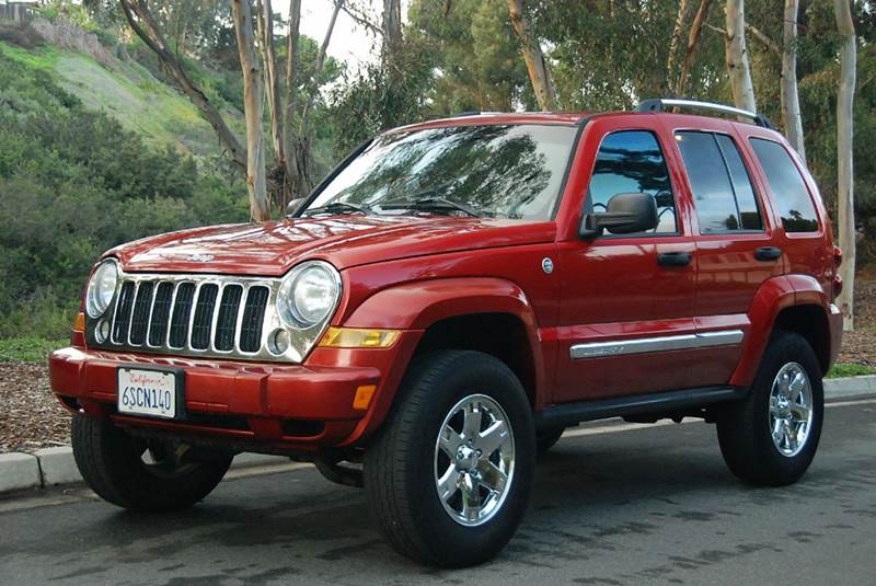 2006 Jeep Liberty Limited 4dr Suv 4wd In San Diego Ca New