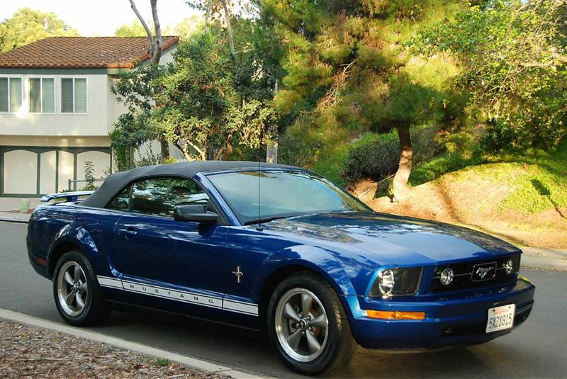 2006 Ford Mustang V6 Premium 2dr Convertible In San Diego ...