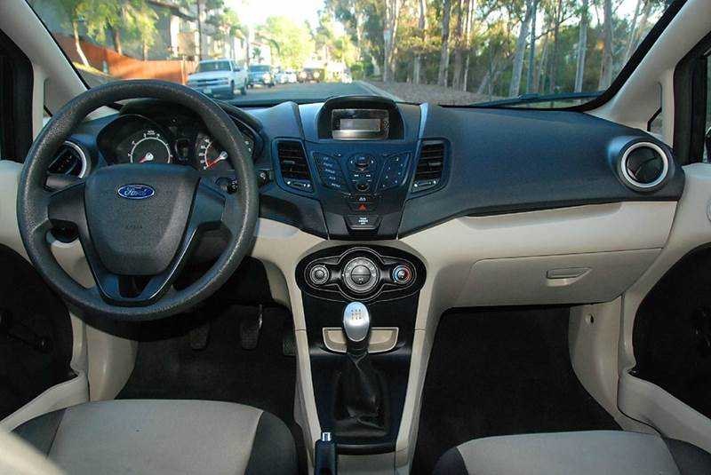 2013 ford fiesta s 4dr sedan in san diego ca new. Black Bedroom Furniture Sets. Home Design Ideas