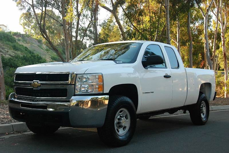 2009 chevrolet silverado 2500hd work truck 4x4 4dr extended cab sb in san diego ca new. Black Bedroom Furniture Sets. Home Design Ideas