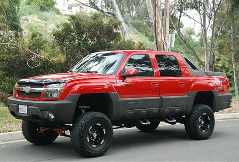 2002 Chevrolet Avalanche for sale in San Diego, CA