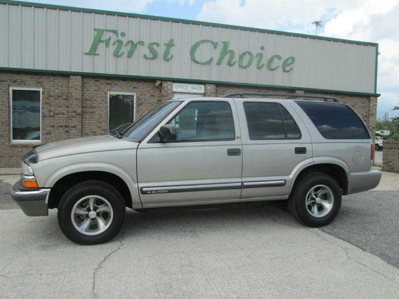 2000 chevrolet blazer in greenville sc first choice auto. Cars Review. Best American Auto & Cars Review