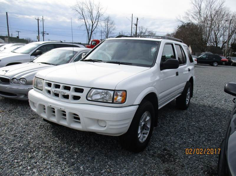 2002 isuzu rodeo ls 4wd 4dr suv in laurel de d c auto. Black Bedroom Furniture Sets. Home Design Ideas
